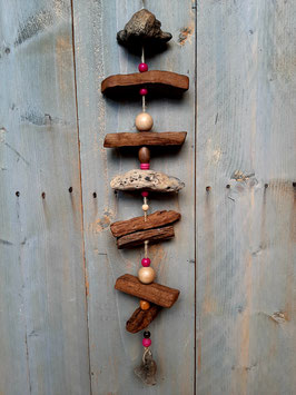 decoratie hanger teak