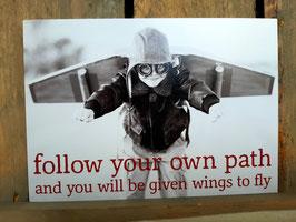Zintenz kaartje own path