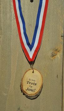 medaille trots op jou!