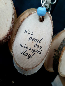 I'ts a good day to..