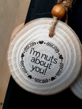 Nuts about you!