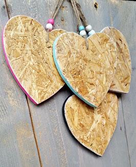OSB houten hart