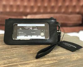 Lederwerk Handy - Clutch/ Portemonnaie