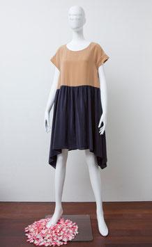 nd-029/16 Silk de Chine bicolor dress