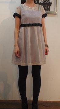 nd-079/13 silk chiffon see-through dress