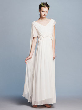 nd-612/26 silk yoryu corsage long dress