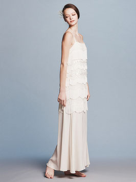 nd-081/08 silk de chin fringe dress