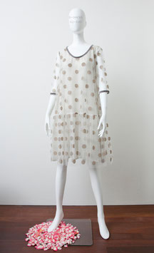 nd-026/13 tull-dots dress