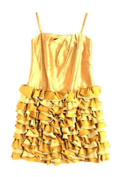 ND-008:)シルクシャンタンキャミドレス