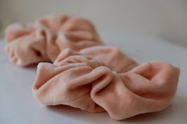 Pink - Velvet Scrunchie