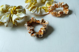 DYER'S COREOPSIS - Silk Scrunchie SMALL