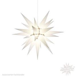 Herrnhuter Advents-und Weihnachts Stern I6, ca. 60cm, Papier, Weiß, nur für Innen geeignet