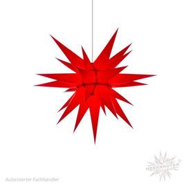 Herrnhuter Advents-und Weihnachts Stern I6, ca. 60cm, Papier, Rot, nur für Innen geeignet