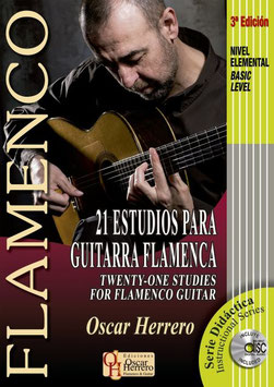 Pack Estudios para Guitarra Flamenca (Vol. 1, 2 & 3)
