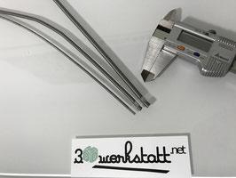Knickschutz Federn Edelstahl - Hydraulikschutz für 2mm Schlauch