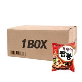 Box Big Sale : 20Pieces x Ojing o Chamong Ramen 124g