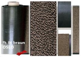 "Schmutzfang-Meterware ""OSLO""  Fb. 06 - Braun"