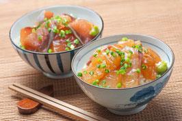 地元 大分産真鯛とブリのりゅうきゅう漬け丼セット/お歳暮/ギフト