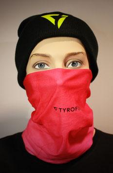 Mund-Nasen-Bedeckung - Pink | TYROFOIL Logo