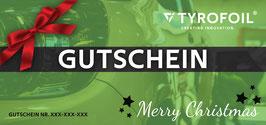 TYROFOIL Wertgutschein - Weihnachten