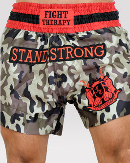 MuayThai-Shorts camouflage STAND STRONG