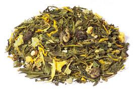 Thé vert bio - Lady Marmelade - Mandarine-pamplemousse