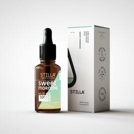 Huile CBD Sweet/Morning - STILLA® Full spectrum - Vanille Madagascar & poire - 10ML