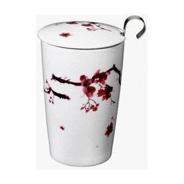 Tisanière Fleurs de cerisier