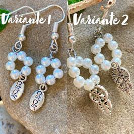 Perlen Ohrringe (Handmade)