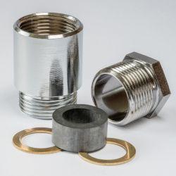 M 18 x 1,5 Nickel