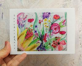 """Postkarte """"Leichtigkeit"""""""