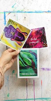 Postkarten 3er Set