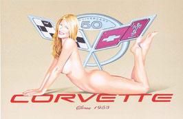 Mel Ramos - Corvette