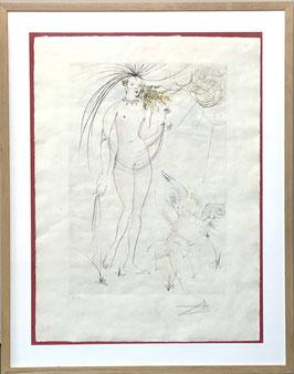 "SALVADOR DALI - ""Venus et I'amour"""