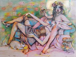 "Ipek Ergen Kursuncu - ""Miss Blossom"" Print"