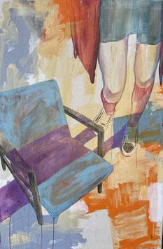 El Bocho - Mädchen am Sessel