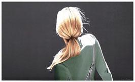 Sabine Liebchen - Mädchen mit grüner Jacke