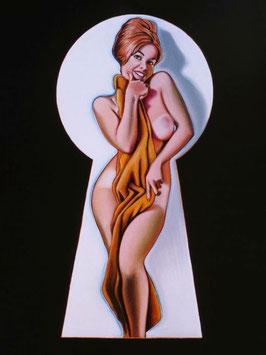 Mel Ramos - Peek-a-Boo Towel