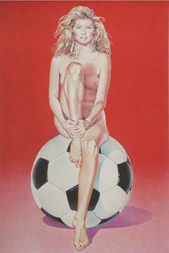 Mel Ramos - Fußball Fannie