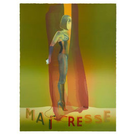 Maîtresse Folio Screenprint, 2015/2016 Motiv 2