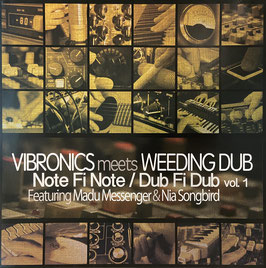 "VIBRONICS meets WEEDING DUB - Note Fi Note (Scoops 12"")"