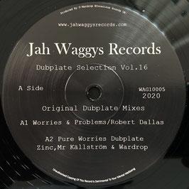 "ROBERT DALLAS - Worries & Problems (Jah Waggys 10"")"