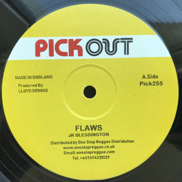 "JR BLESSINGTON - Flaws (Pick Out 12"")"
