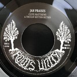 """CLIVE MATTHEWS - Jah Praises (Roots Unity 7"""")"""