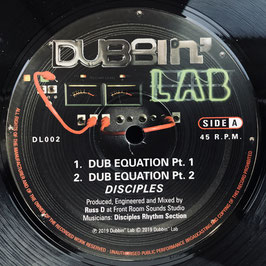 "DISCIPLES - Dub Equation (Dubbin' Lab 10"")"