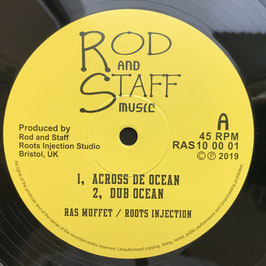 "RAS MUFFET - Across The Ocean (Rod And Staff 10"")"