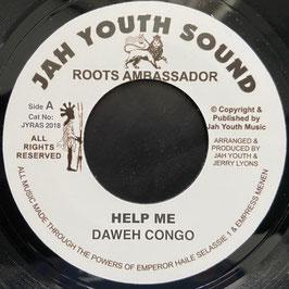 "DAWEH CONGO - Help Me (Jah Youth 7"")"