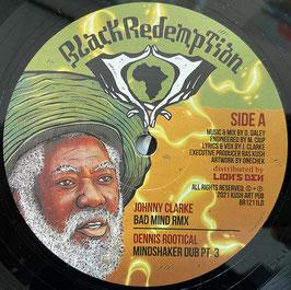 "JOHNNY CLARKE - Bad Mind Rmx (Black Redemption 12"")"