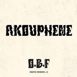 "O.B.F. - Akouphene (Dubquake 12"")"