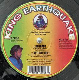 "SYLFORD WALKER - Duti Pot (King Earthquake 12"")"